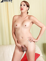 Sexy Janira is a long time Grooby girl with a hot body, a great ass and a rock hard cock! Enjoy this horny tgirl as she shakes her booty and strokes her cock!