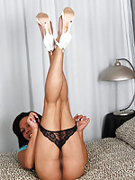 Barbie is a stunning young tgirl with an amazing body, perky boobs with pierced nipples, a hot firm ass and a delicious hard cock! Watch this sexy transgirl shaking her ass and stroking her big dick for you!
